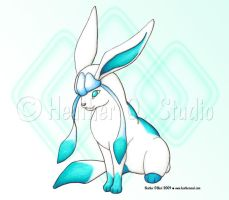 Glaceon by stormwhisper02