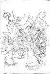 Sonic Universe #41 Cover sketch by Yardley