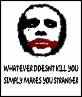 Joker's Philosophy by barenakedtshirts