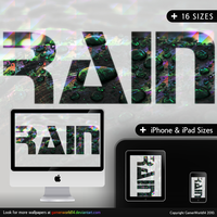 RAIN wallpaper Pack by GamerWorld14