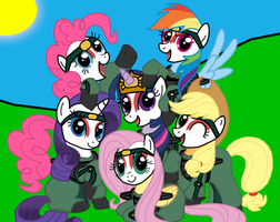 Kyoshi Ponies by Death-Driver-5000