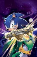 Sonic Universe 36 Cover by herms85