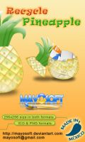 Recycle Pineapple by Mayosoft