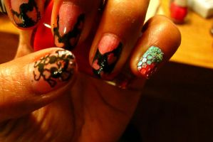 Valentine special nail art by swapthat