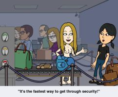 Airport Security by mickyjenver