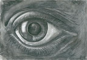 Staring eye by AmzyBabes