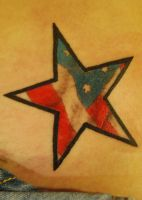 Star Flag Tattoo by NateTheKnife