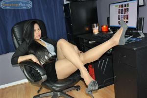 Danling is Serious Business by PantyhoseClass