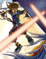 Facedown - KH2 Spoiler by Rebmakash