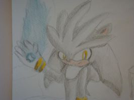 Silver the Hedgehog by Open-your-Heart
