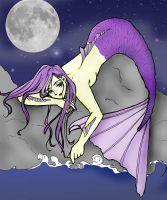 Lonely Mermaid by sinfullyinnocent