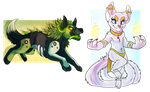 A pair of cheebs by Falkarth
