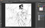 Glance - A Love Once Dreamt - Rough Sketch by SaucyMuse