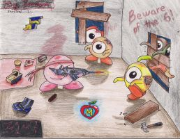 Kirby Zombies by sontailsfan1221