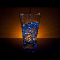 I'm a half full glass type by piximi