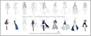 Battle Party Collection - Bellum Pars by Kimikotan