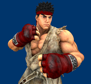 SFM: Ryu by ElectricFox37