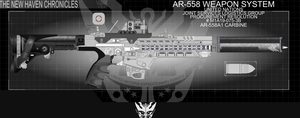 AR-558 Weapon System - Carbine...yes, a new WIP by Jon-Michael-May