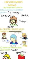 Harvest Moon meme by me by Roiaru