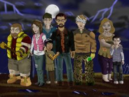 The Walking Dead Game by SercansArtbook