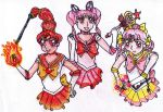 HiC Senshi Trio by TheAnomally