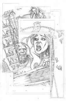 FUNHOUSE of HORRORS Page 17 Issue 4 by RudyVasquez