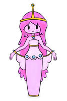 Princess Bubblegum by haunted-luck