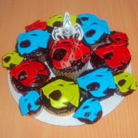 ThunderCats Logo Cupcakes by ToughSpirit