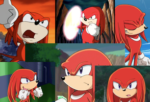 Knuckles Wallpaper request by geniesmartass