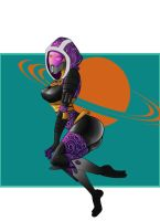 Tali Vas Normandy by Atomic-DNA