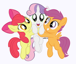 Commission: Cutie Mark Crusaders HUG by empty-10