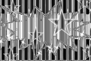 Silver stars by Unshakble