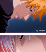 ichigo and gin by Lorse77