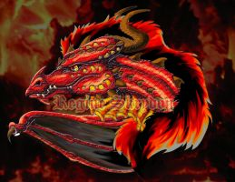 Red Dragon - My Good SidePC by RegineSkrydon