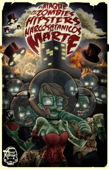 The Attack of the Zombies Hipsters From Mars by Frank-Cadillac