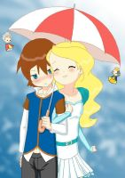 Love and rain by x-Lilou-chan-x