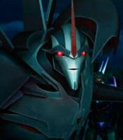 TF Prime Starscream by LordStarscreamraptor