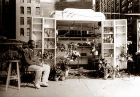 Flower Stand on 34th and 5th by talwin