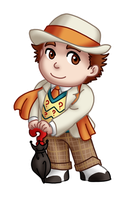 Chibi 7th Doctor v2 by TwinEnigma