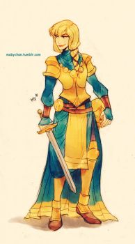 Fem!Phoebus by MabyMin