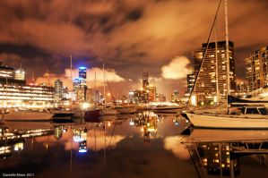 Night Time Reflections by DanielleMiner