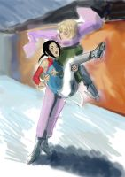 Hetalia skating by Valapfia