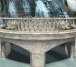 Bridge and Waterfalls2 by HarleyBliss