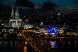 Koeln bei Nacht | Cologne by Night by ART-Obscure