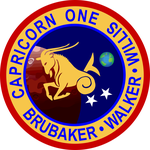 Capricorn One Mission Patch by CmdrKerner