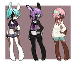 Bunny Adopt(2/3)(OPEN) by Assorted-Adopts