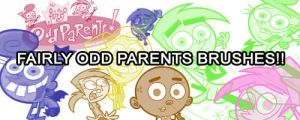 Fairly Odd parents Brushes by tamystock