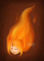 Flame Princess by Nakanoninaa