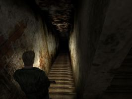 Silent Hill 2 Stair To Hell by ParRafahell