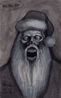 Zombie Santa 12-25-2013 by myconius